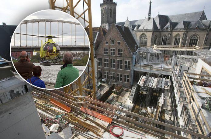 Bij de bouw van het stadskantoor in Deventer ging het op 1 mei 2015 gruwelijk mis.