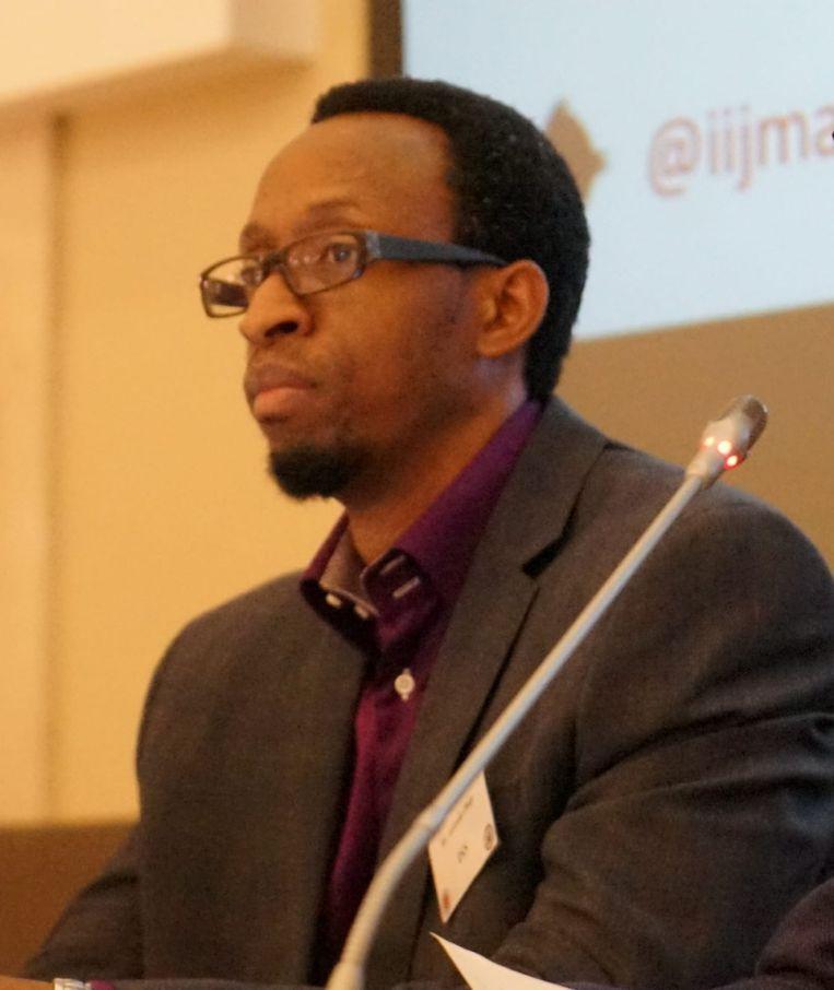 Akinola Olojo, onderzoeker van het Institute for Security Studies. Beeld