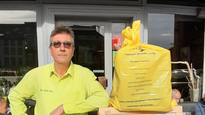 "Café Dutch Inn zamelt gele Ilva-zakken in: ""Om Licht en Liefde te steunen"""