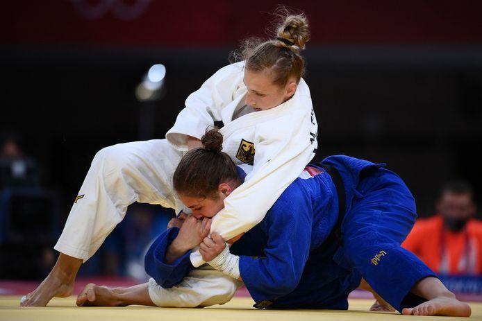 Martyna Trajdos a été secouée par son coach avant son combat, mais ça ne lui a pas porté chance.