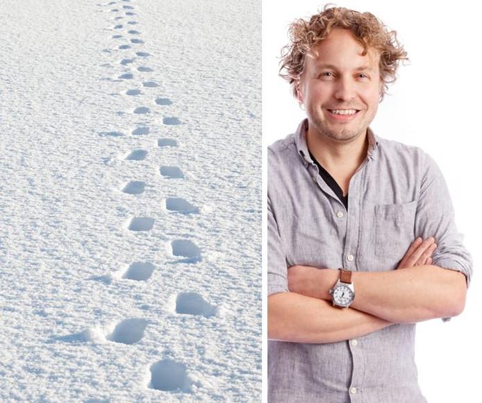 Zelfs vijf kilometer verderop was sneeuw gevallen. Oneerlijk, vonden Niels Herijgens' nakomelingen.