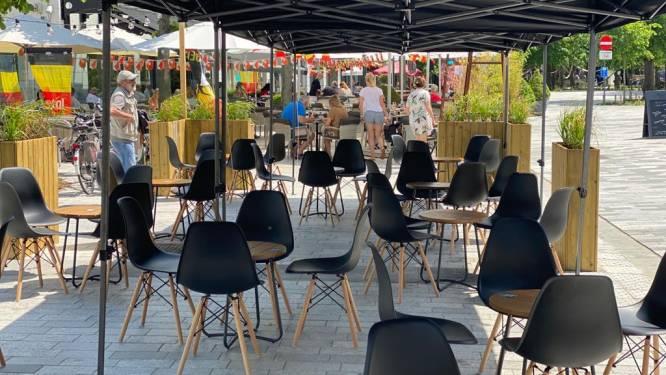 Solidariteit in Lommel: horeca-uitbaters delen terras