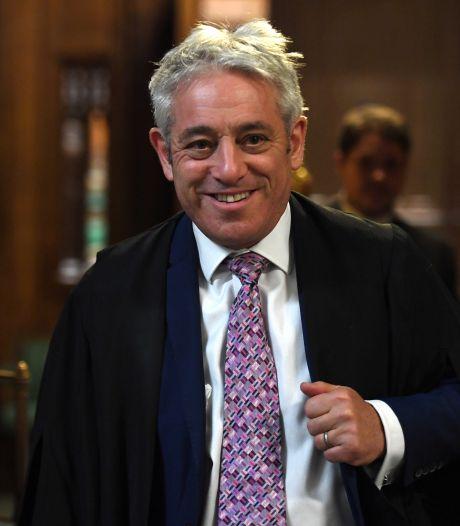 Voormalig voorzitter van Britse Lagerhuis John 'order, order!' Bercow stapt over naar Labour