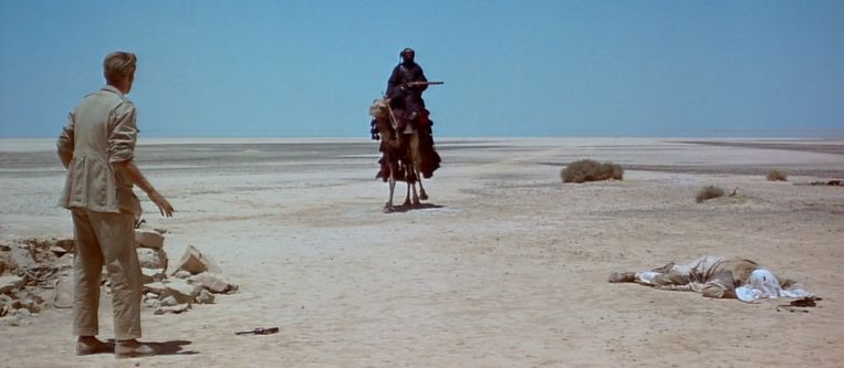 Sharif Ali in 'Lawrence of Arabia': 'He is nothing. Water is everything.' Beeld RV