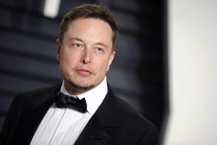 Elon Musk. Beeld BELGAIMAGE