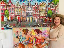 Rechter verbiedt verkoop van gekopieerd werk van Hengelose kunstenares door hobbywinkel in Almere