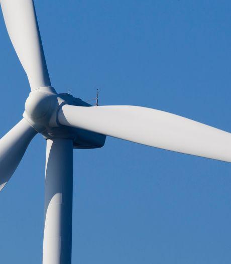 Streep door windmolens