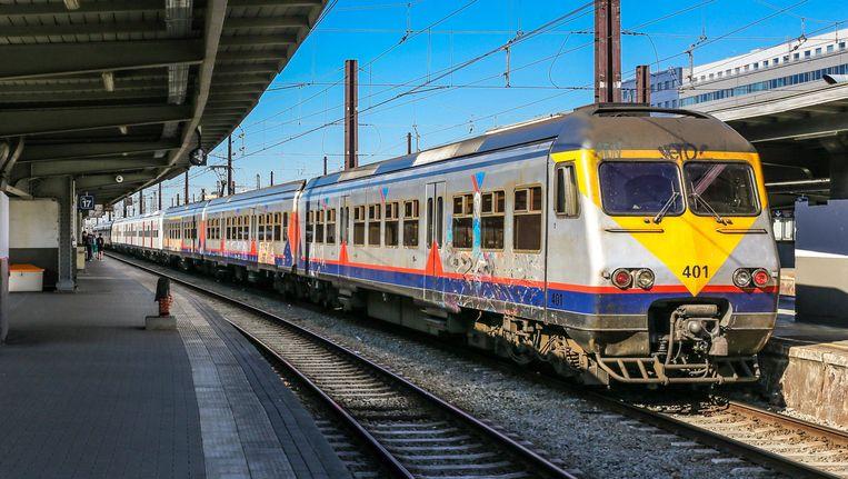 Ter illustratie: een trein in Brussel-Zuid.