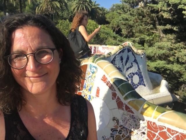 Karin (50) op vakantie in Spanje, ook daar via een huizenruil.