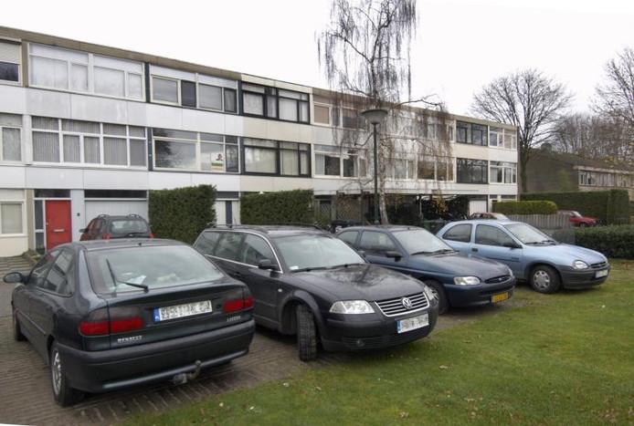 Huizen aan de Merwedelaan. archieffoto Van Assendelft