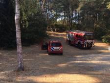 Bosbad Leersum korte tijd ontruimd vanwege brand bij tennisclub