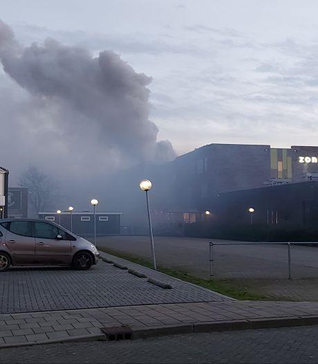 'Zeer grote brand' in Zone College in Doetinchem, ontstaan in praktijklokaal