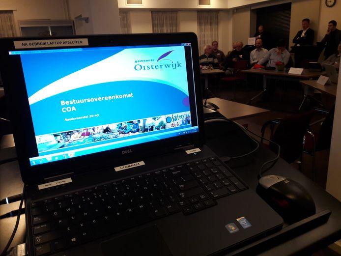 Oisterwijk staat voor het tekenen van een nieuwe bestuursovereenkomst met het COA over verlenging van het asielzoekerscentrum