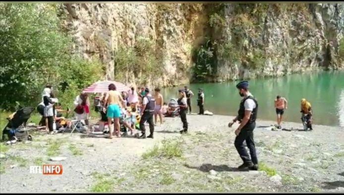 Trois baigneurs ont été arrêtés sur le site de Gralex
