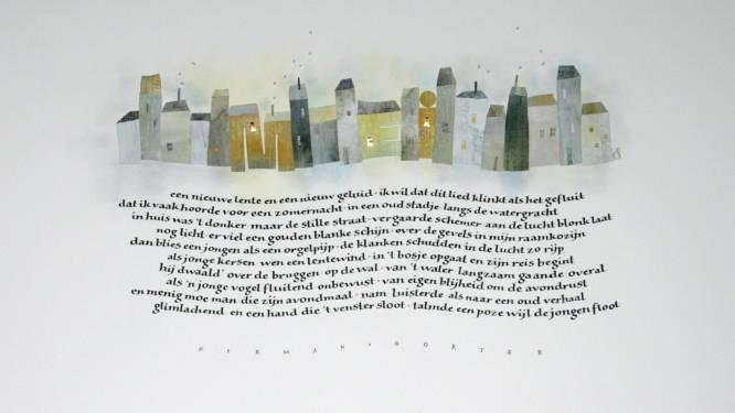 Laureate van Internationale Grote Prijs Kalligrafie 2020 exposeert in gemeentehuis