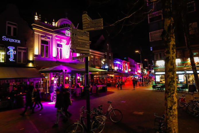 Het Stratumseind in Eindhoven.