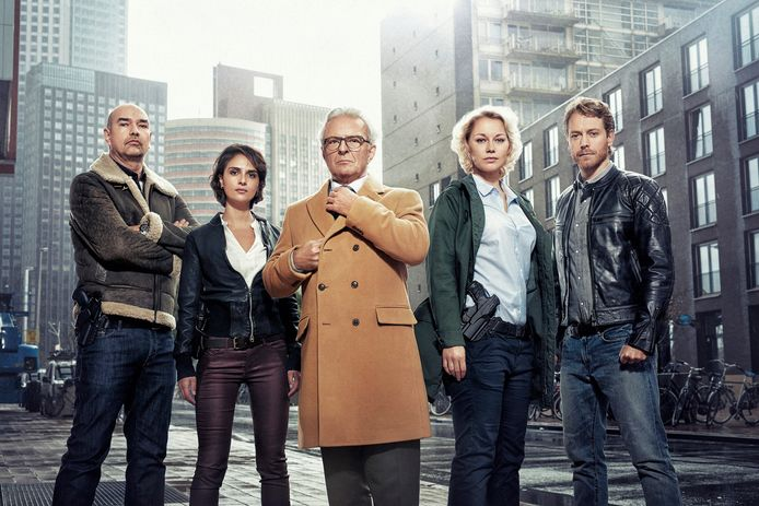 Flikken Rotterdam - Cast