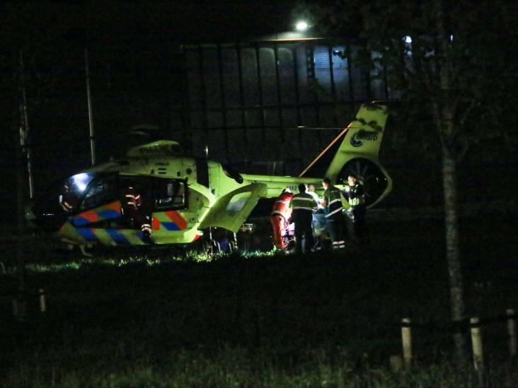 Scooterrijder zwaargewond na ongeluk Beek en Donk, met traumahelikopter naar ziekenhuis