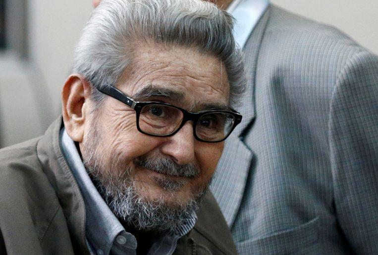 Abimael Guzmán in 2017. Beeld REUTERS