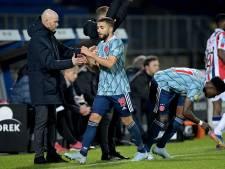 Ajax gaat winterstop in met puntenverlies bij laagvlieger Willem II