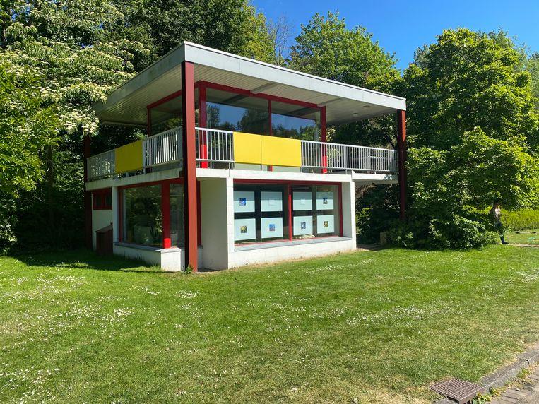 Het Rietveld Huis, waar Zone2Source te vinden is. Beeld Floor van Spaendonck en Gijs Stork