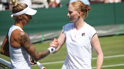 Ook Alison Van Uytvanck wint haar eerste ronde op Wimbledon en wacht galamatch tegen Muguruza
