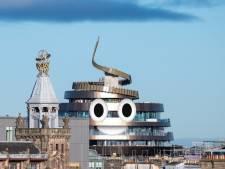 Un bâtiment en forme de crotte à Édimbourg fait polémique