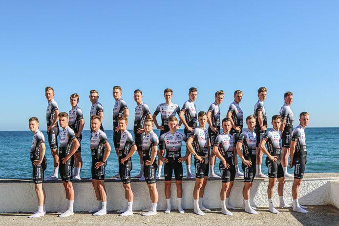 De renners van Home Solution kijken uit naar de echte start van het seizoen.
