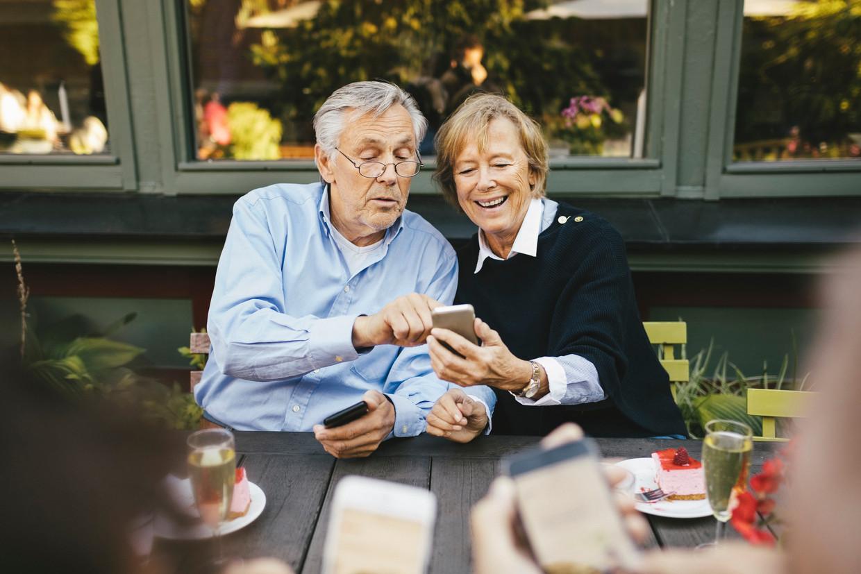 Zorgeloos genieten van je pensioen. Beeld Getty Images