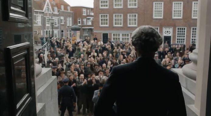De film werd voor een deel opgenomen in Dordrecht. Op dit beeld is het Stadhuisplein te zien.