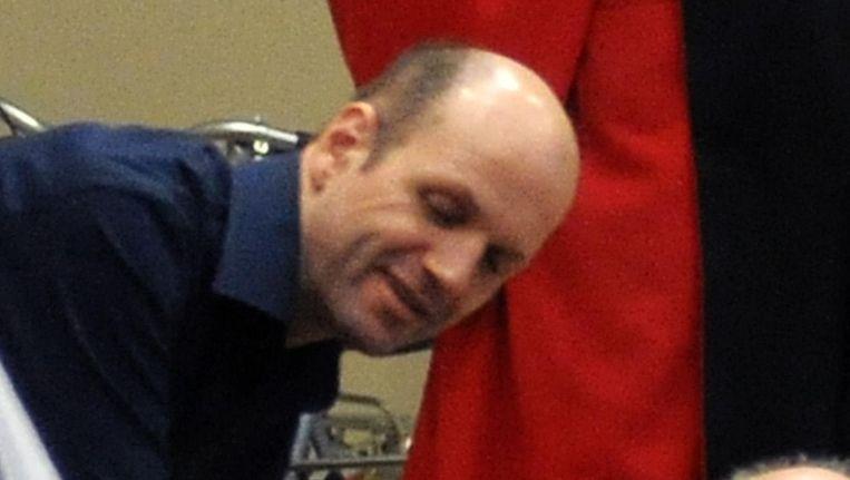 Archiefbeeld van Ronald Janssen bij zijn assisenproces. Beeld BELGA