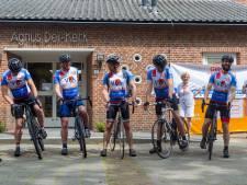 Via Aalst en Aalst ALS de wereld uittrappen: fietsen tegen spierziektes in de Giro di Muscoli