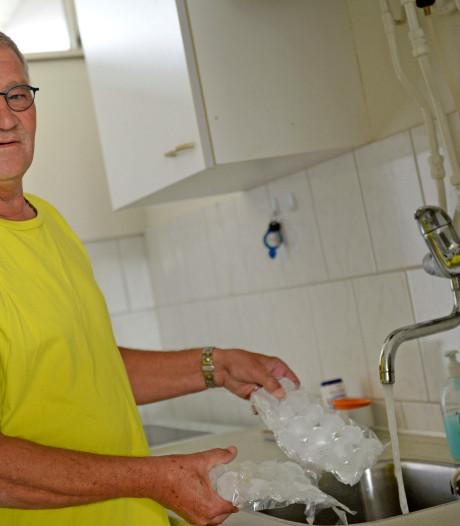 Paul uit Hengelo krijgt alleen koud kraanwater met ijsklontjes