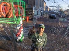Pizzabakker uit Kampen beduusd: net open en nu al een baksteen door de ruit