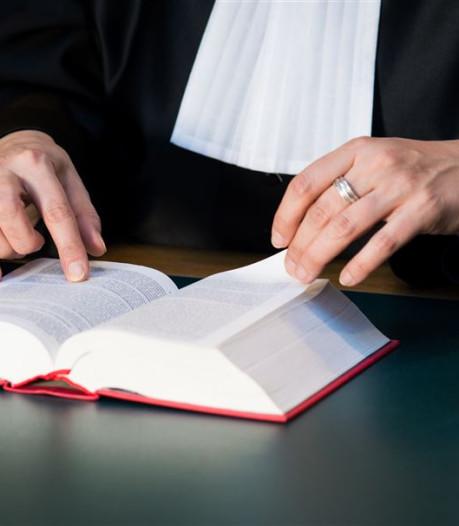 Advocaten staken half uur bij rechtbank in Den Bosch