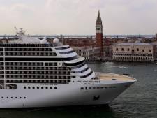 Grote cruiseschepen verbannen uit beschermde binnenstad Venetië