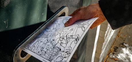 Ludieke kleurplaten voor kinderen in de strijd tegen nieuwe Deventer windmolens: 'Het is hun toekomst'