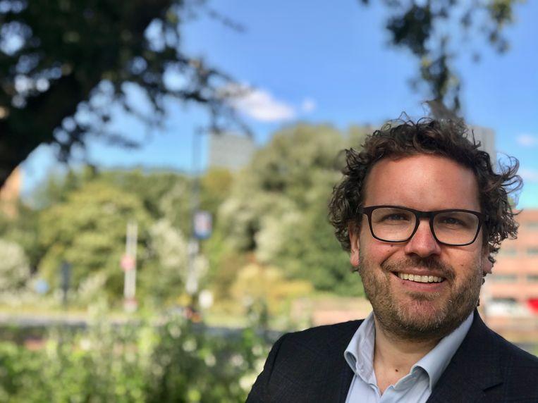 Stadsdeelvoorzitter Maarten Poorter (Oost) Beeld -