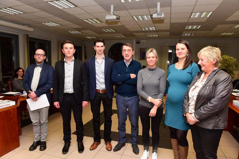 De nieuwe leden van de raad voor maatschappelijk welzijn