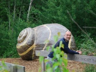 Slakkenhuis biedt innerlijke rust aan wandelaars in Prinsenpark