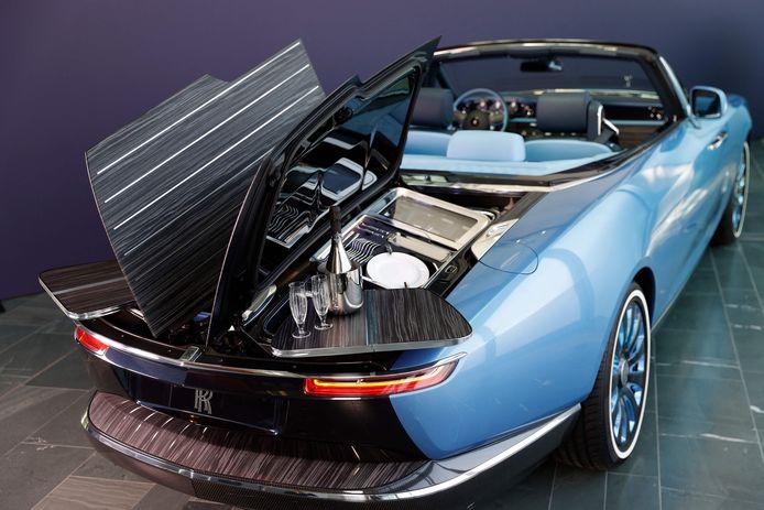 De Rolls-Royce Boat Tail.