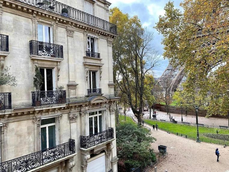 Voor die 945.000 euro woon je wel om de hoek van de Eiffeltoren. Beeld Saint Ferdinand Immobilier