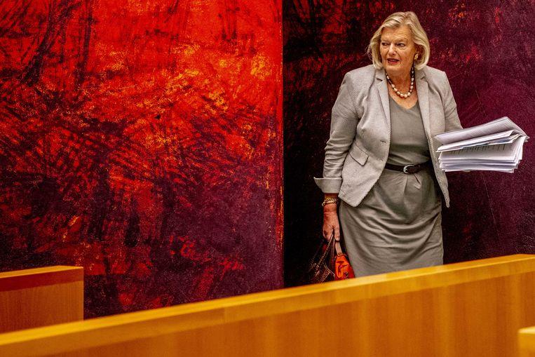 Staatssecretaris Ankie Broekers-Knol van justitie en veiligheid. Beeld ANP