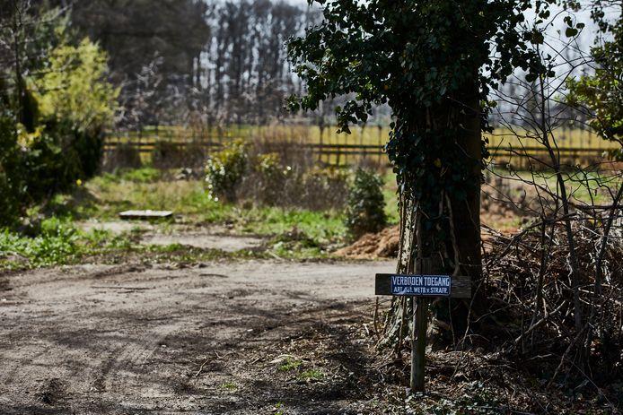 De bloemkwekerij aan de Lindeseweg werd woensdag ontruimd door de gemeente Bronckhorst.