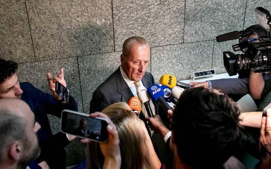 Theo Hiddema (FvD) in de Tweede Kamer.