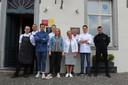 De ploeg van Sterrenrestaurant Sir Kwinten maakte zich in juni nog klaar voor de heropening na de eerste lockdown.