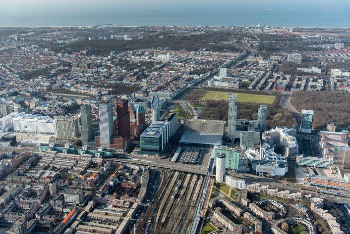 Den Haag van boven. Ter illustratie.
