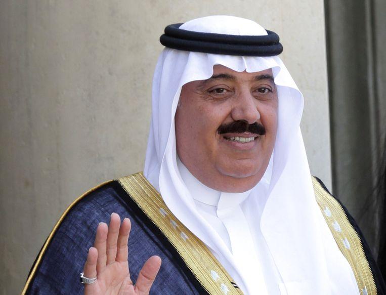 Prins Miteb bin Abdullah. Beeld REUTERS