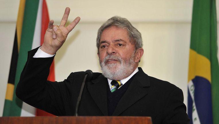 Luiz Inácio Lula da Silva was president van Brazilië van 2003 tot 2011. Beeld anp