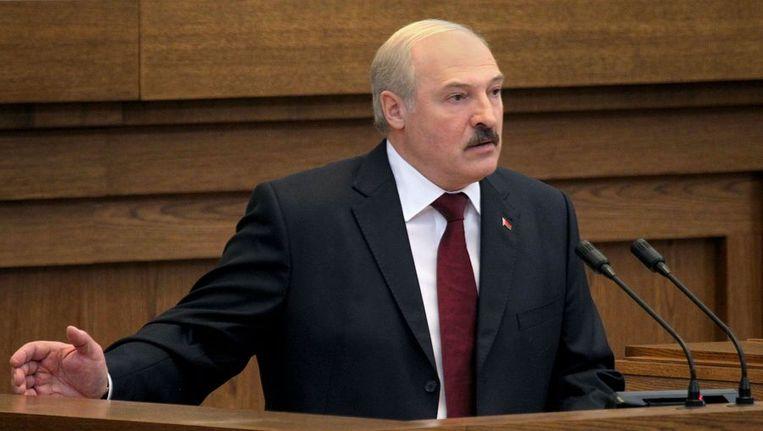 Aleksandr Loekasjenko. Beeld afp